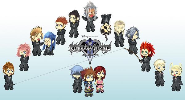Kingdom Hearts by KairiKingdomHearts15Xemnas Kingdom Hearts Chibi
