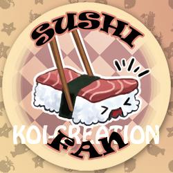 Sushi Fan by Loreen