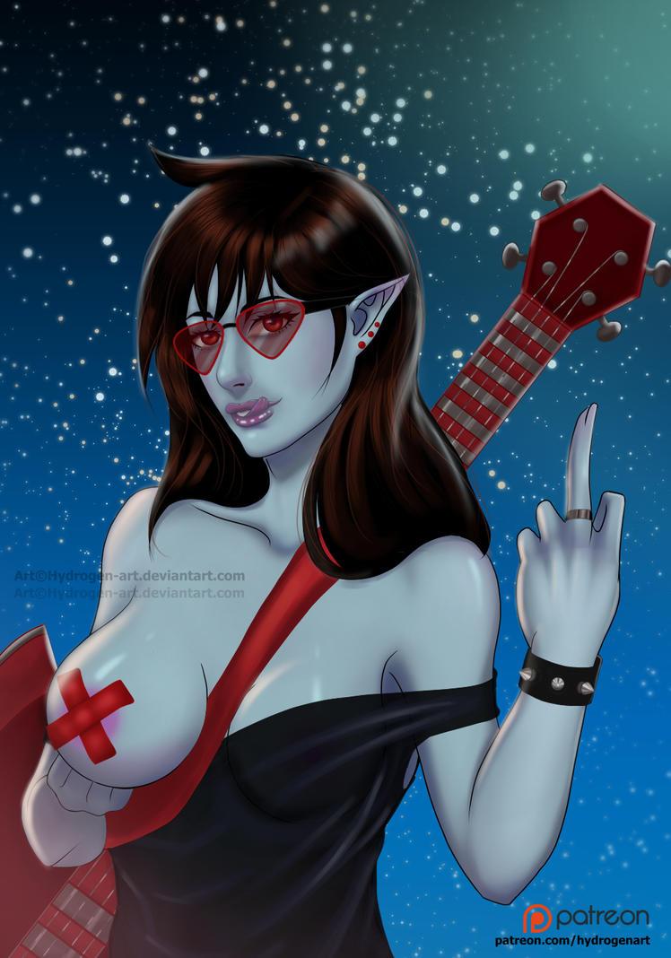 Marceline FulColor Tier$5 by Hydrogen-Art