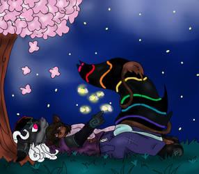 Cherry Blossom Moonlight
