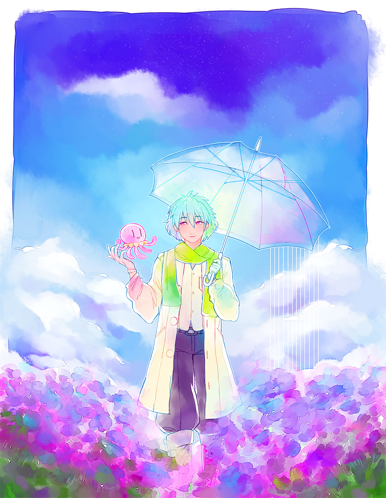 DmMd: jellyfish prince clear by Kaiyobi
