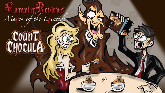 Maven of the Eventide: Count Chocula Title Card 01 by JeremyHovan81