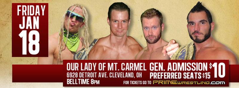 Prime Wrestling FaceBook Banner 1-18-13 Show! By