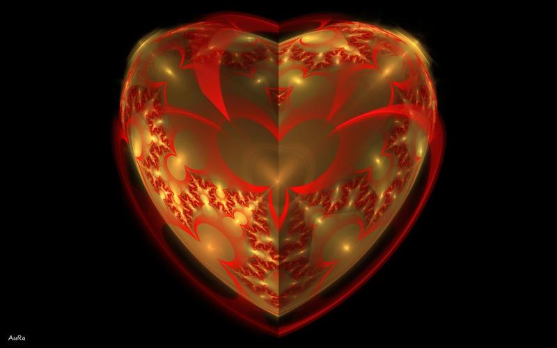 Golden Heart by AuroraMycano