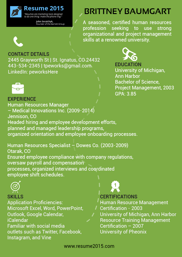 Typical Resume Format For 2015 By Resume2015 On Deviantart