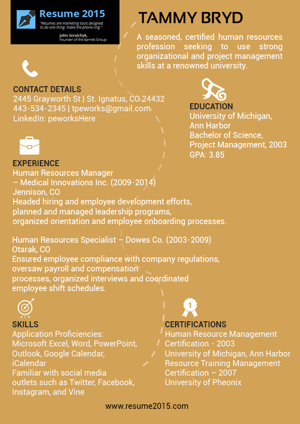 excellent manager resume sles 2015 by resume2015 on