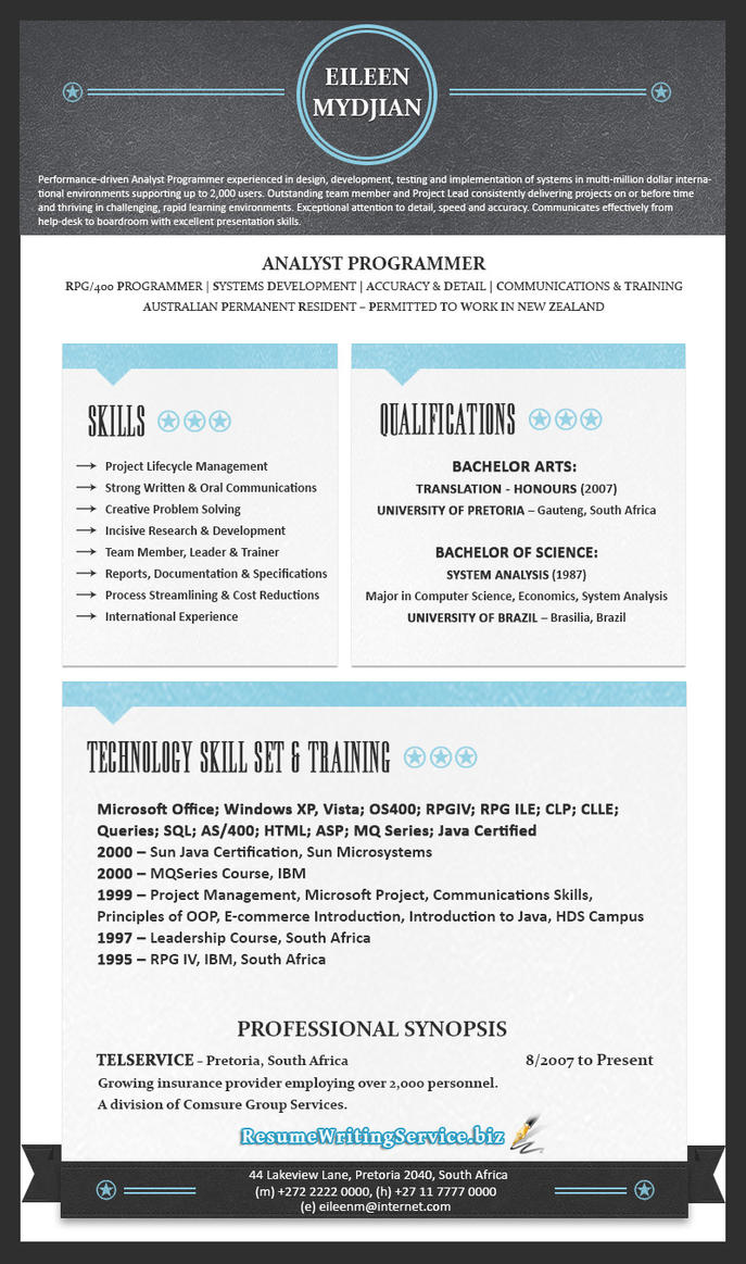 Best resume writing service 2015