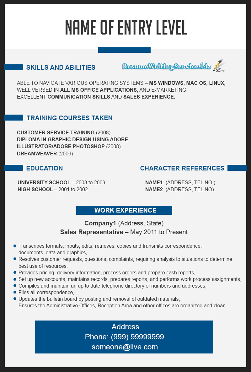 New Resume Examples 2015 By Resume2015 On Deviantart