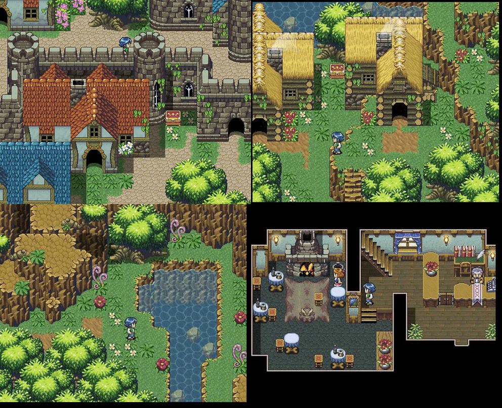 Fantasy jrpg tileset work by weremole on deviantart for View maker