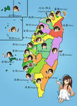 Taiwan and her Counties