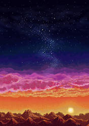 Red Planet Landscape by ShadowDragonK