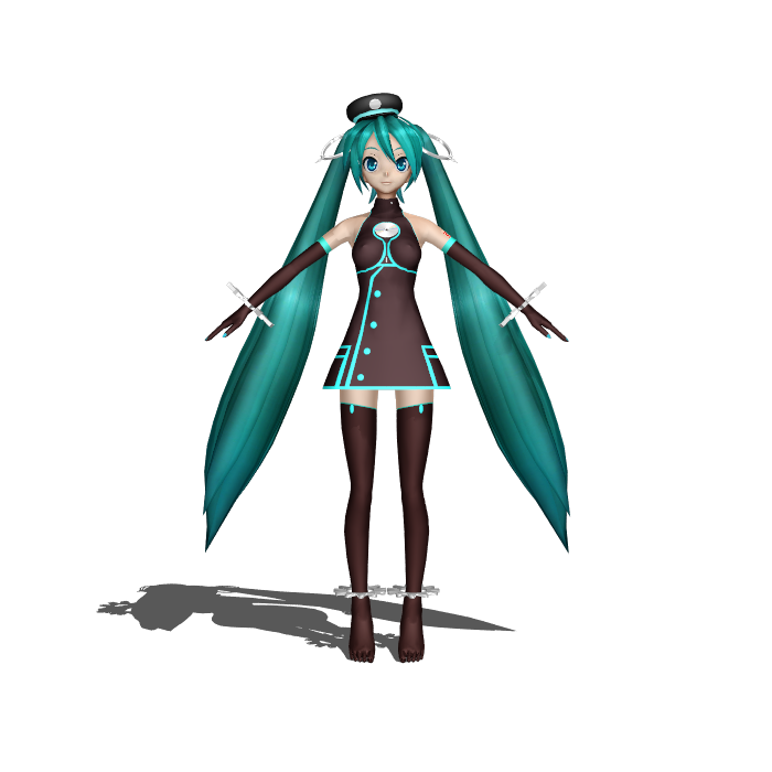 MMD SMF miku (update) by Ina-C