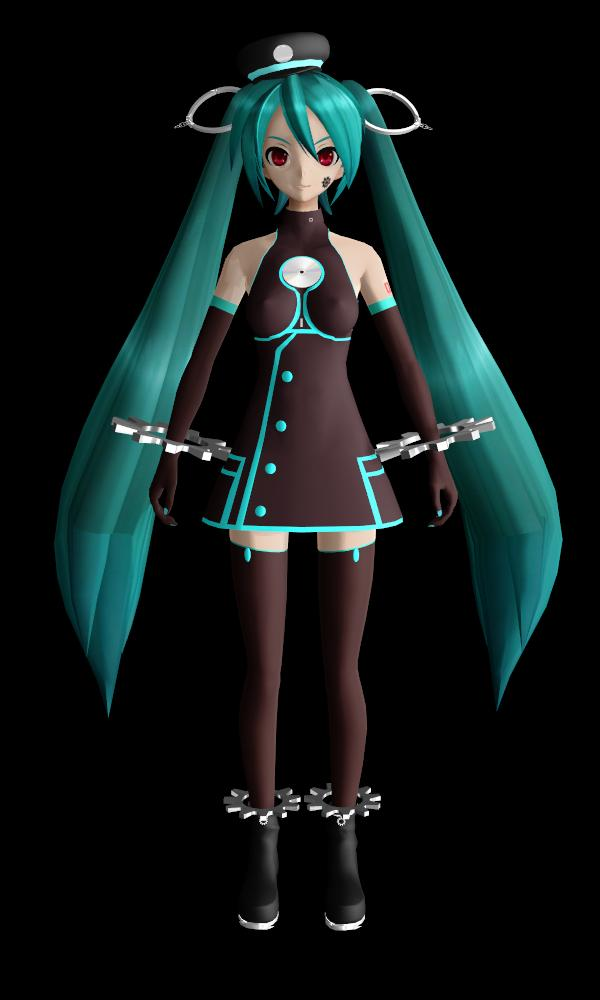 MMD - sadistic music factory miku (SMF update) by Ina-C