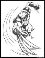 Wolverine Slice by JoeCostantini