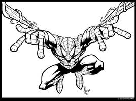 Spider-man Thwip by JoeCostantini