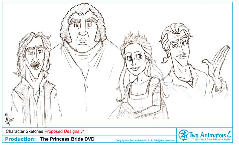 The Princess Bride by JoeCostantini on DeviantArt