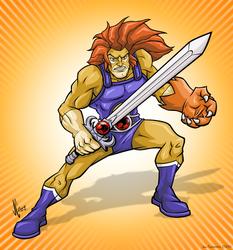 Thundercats Lion-O by JoeCostantini