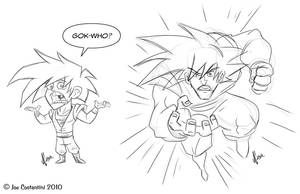 DAC Week 5 Goku Rough by JoeCostantini