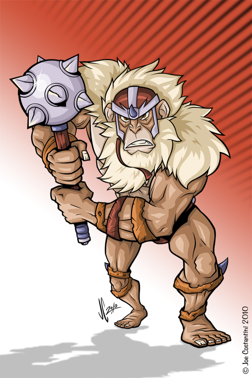 Thundercats Monkian by JoeCostantini