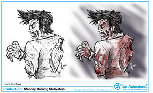 'Z' is for Zombies by JoeCostantini