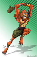 Thundercats Jackalman by JoeCostantini