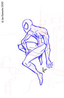Spidey Pose 01-18-12 by JoeCostantini