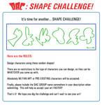 Shape Challenge Rules: 05-01-12