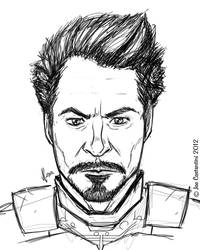 Iron Downey Jr. by JoeCostantini