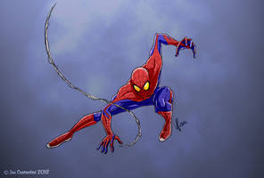 Spidey Pose 07-04-12 by JoeCostantini