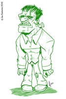 Franky's Monster by JoeCostantini