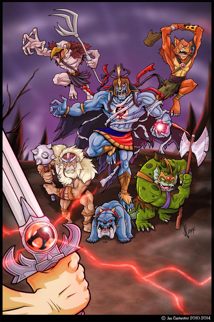 The Evil Mutants by 2Ajoe