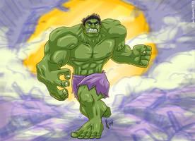 Hulk Smash by JoeCostantini