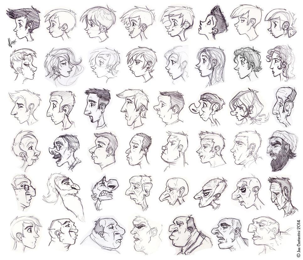 Lots of Profiles by 2Ajoe