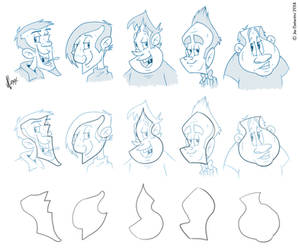 Shape Dudes by JoeCostantini