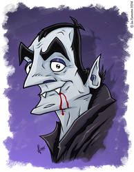 Monster Mash Drac by JoeCostantini