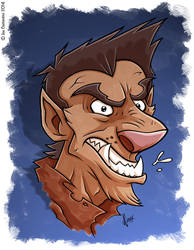Monster Mash Woflie by JoeCostantini