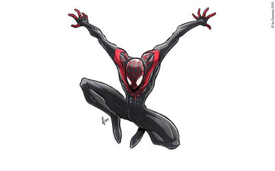 Miles Morales by JoeCostantini