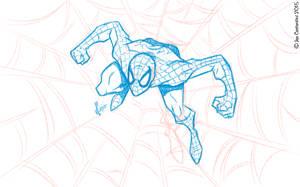 Spidey Sketch #113 by JoeCostantini