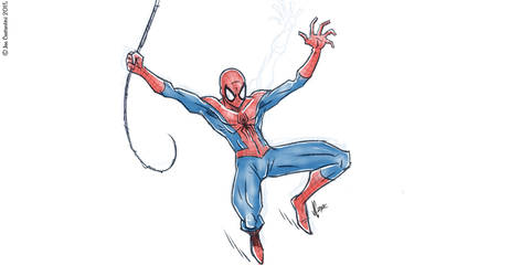 Spidey Sketch #116