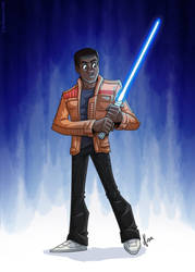 Star Wars - Finn by JoeCostantini
