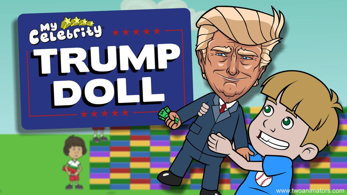 Trump Doll by 2Ajoe