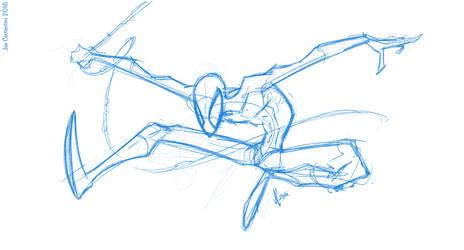 Spidey Sketch #118