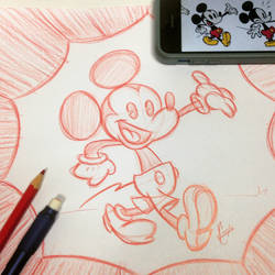 Mickey Mouse by JoeCostantini