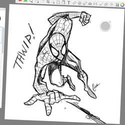 Spidey Sketch #121