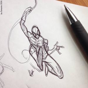 Spidey Sketch #124