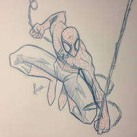 Spidey Sketch #125 by JoeCostantini