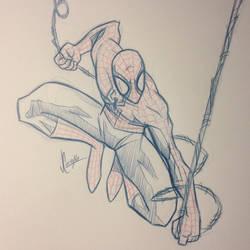 Spidey Sketch #125