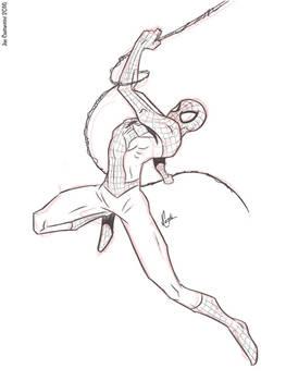 Spidey Sketch #126