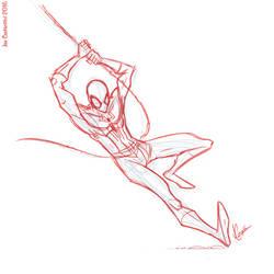 Spidey Sketch #127