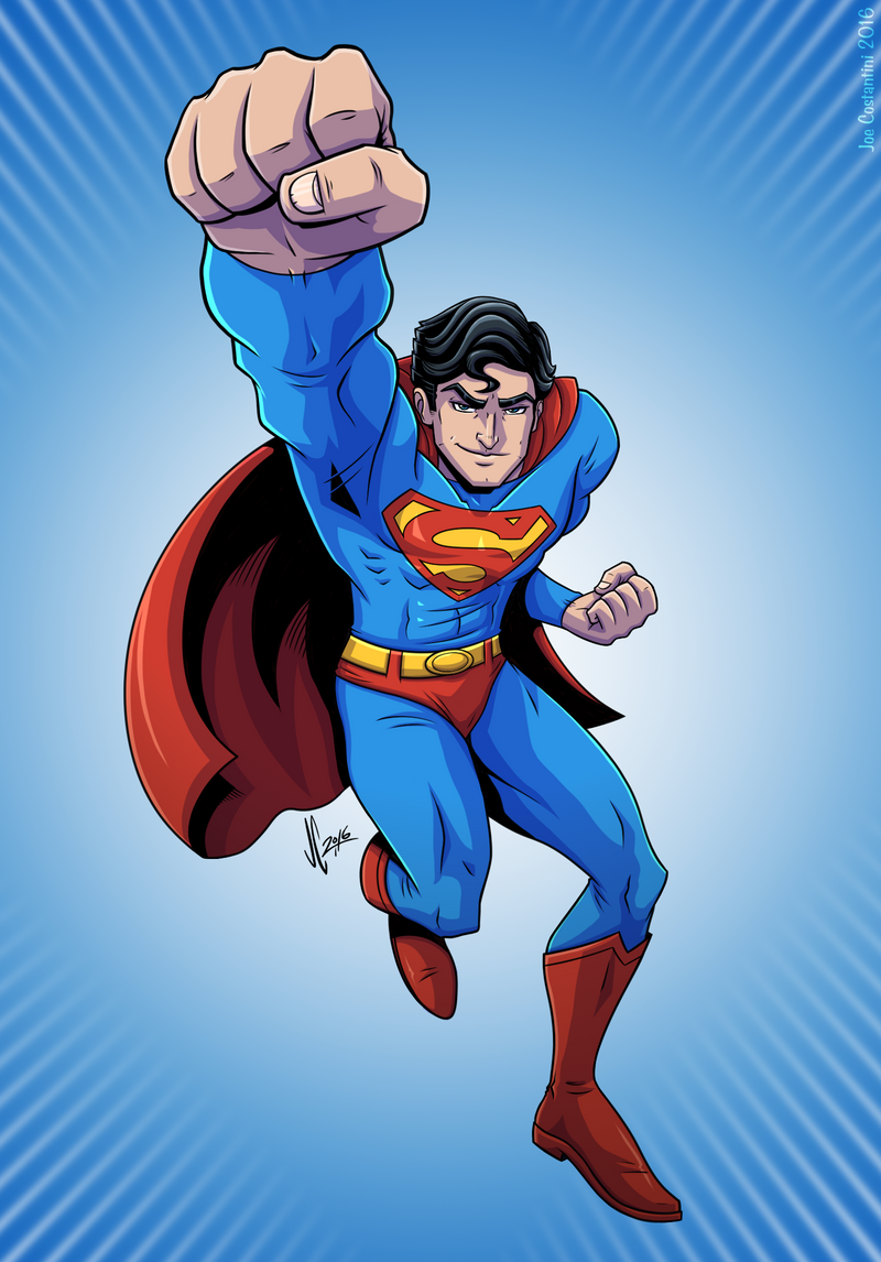 Superman by JoeCostantini